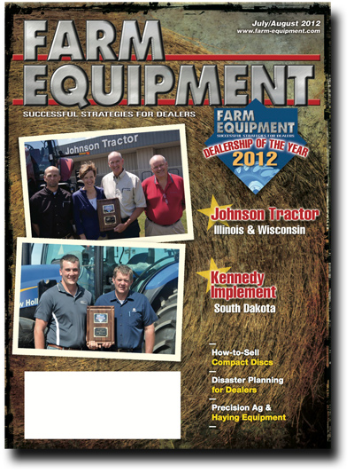 Farm Equipment Magazine Cover - June Showcase 2012