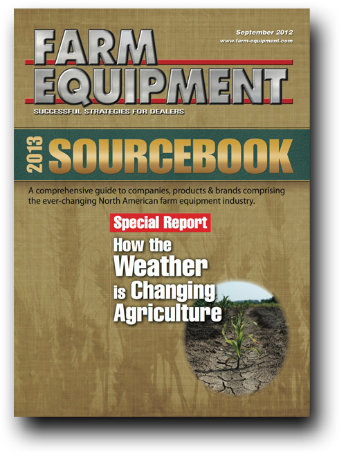 Farm Equipment Magazine Cover - September 2012