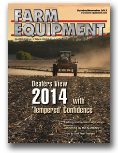 Farm Equipment Magazine Cover - July/August 2013