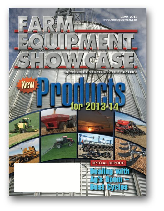 Farm Equipment Magazine Cover - June Showcase 2013