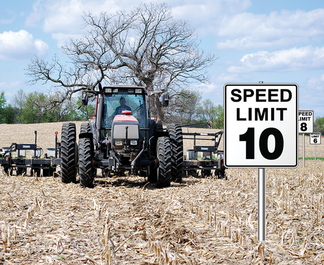 How Fast Can We Plant Farm Equipment