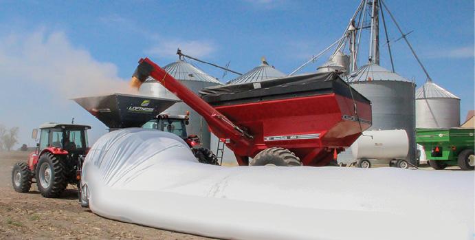 Loftness Grain Bag Unloader Lange Ag Systems 10 Grain