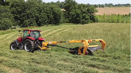 Swath Width Vs Mower Type Farm Equipment