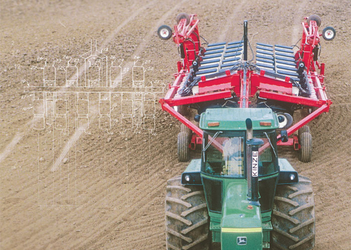 The Rear Fold Planter And The Battle That Ensued Farm
