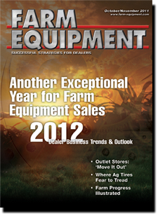 Farm Equipment Magazine Cover - October November 2011