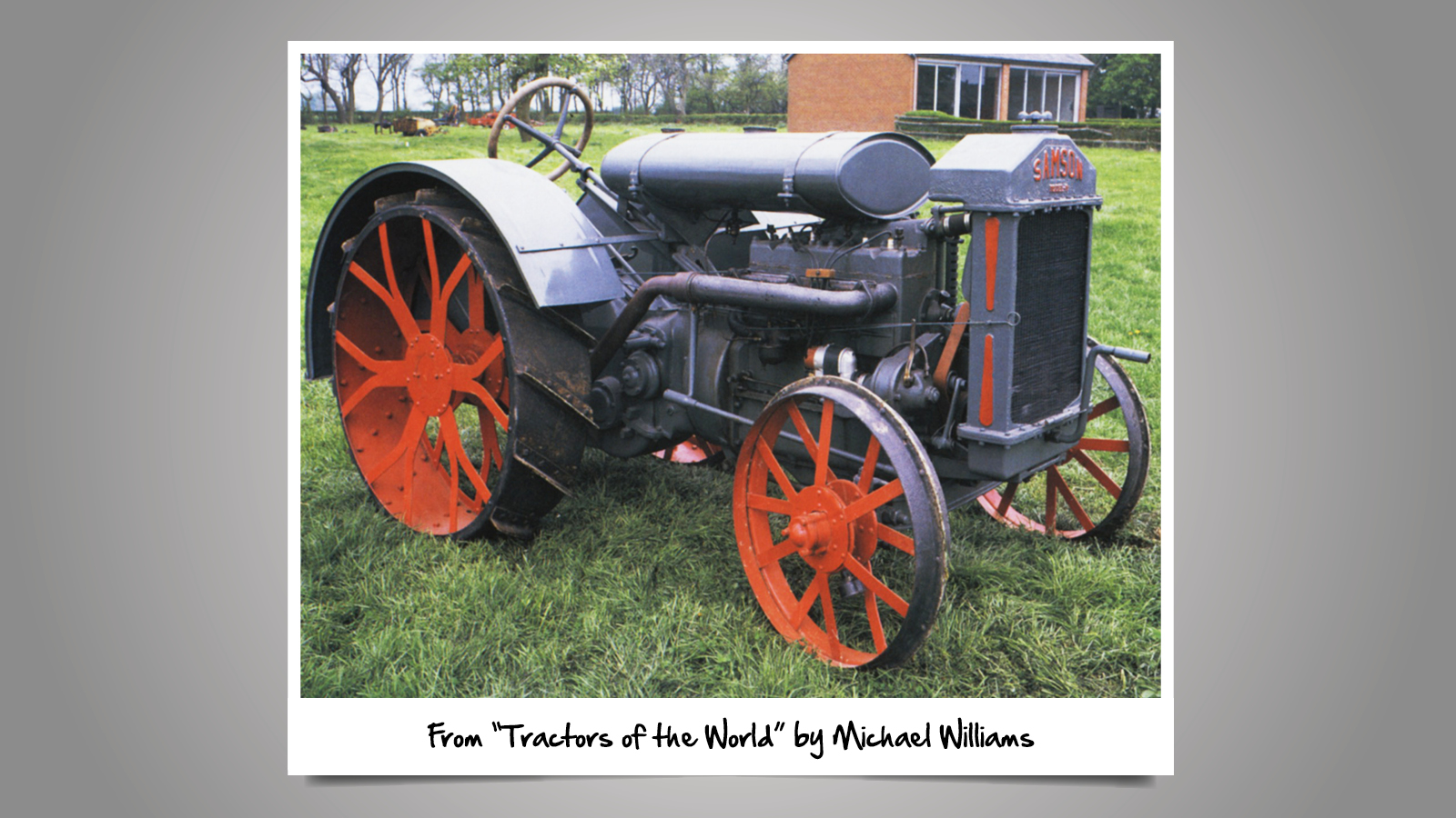 Implement and Tractor Archives
