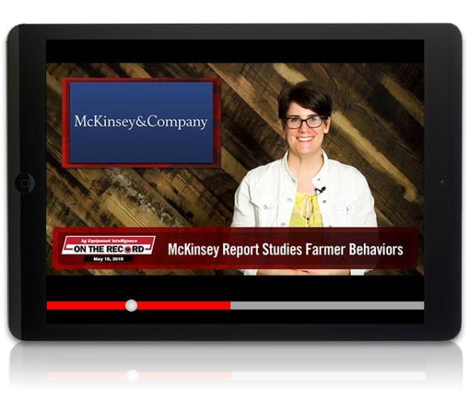 On the Record: McKinsey Report Studies Farmer Behaviors