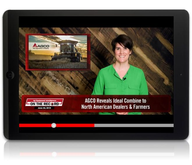 On the Record: AGCO Reveals Ideal Combine to North American Dealers & Farmers