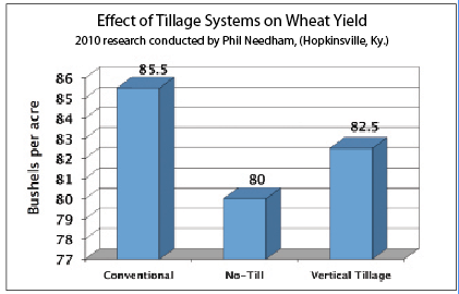 Effect of Tillage Systems on Wheat Yield