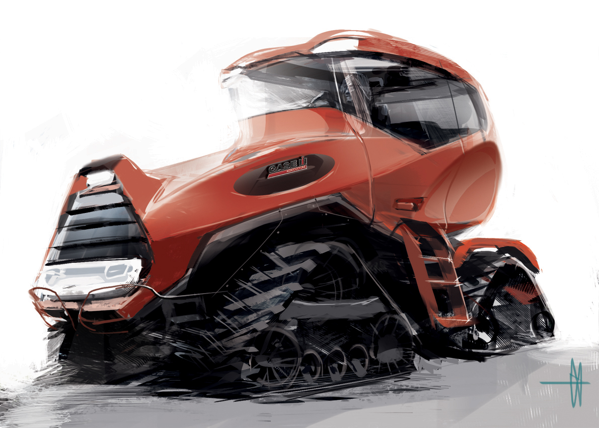 Case Tractor Wallpaper Case ih Concept Tractor