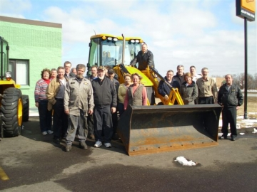 The staff of JCB of Twin Cities