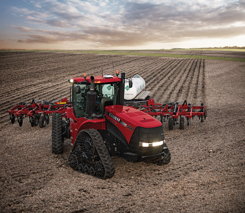 CASE IH ANNOUNCES HIGHEST-HORSEPOWER TRACKED  ROW CROP TRACTOR