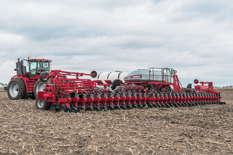 NEW CASE IH EARLY RISER 5 SERIES PLANTERS DELIVER PHOTOCOPY PLANTS AND HIGHER YIELD POTENTIAL