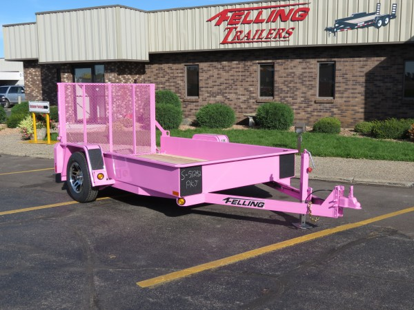 Felling Trailers Online Auction of Pink Trailer to Benefit Breast Cancer Prevention and Support