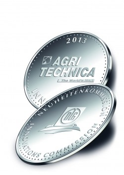 Agritechnica silver medals for combine harvester innovations