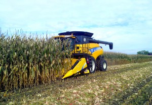 Innovative Cornrower™ header: one-pass swathing reduces operating costs and improves bale density by up to 15%