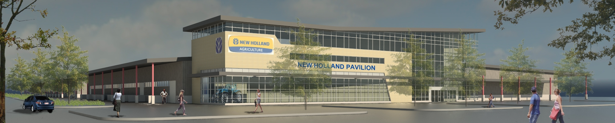 New Holland Livestock Pavilion