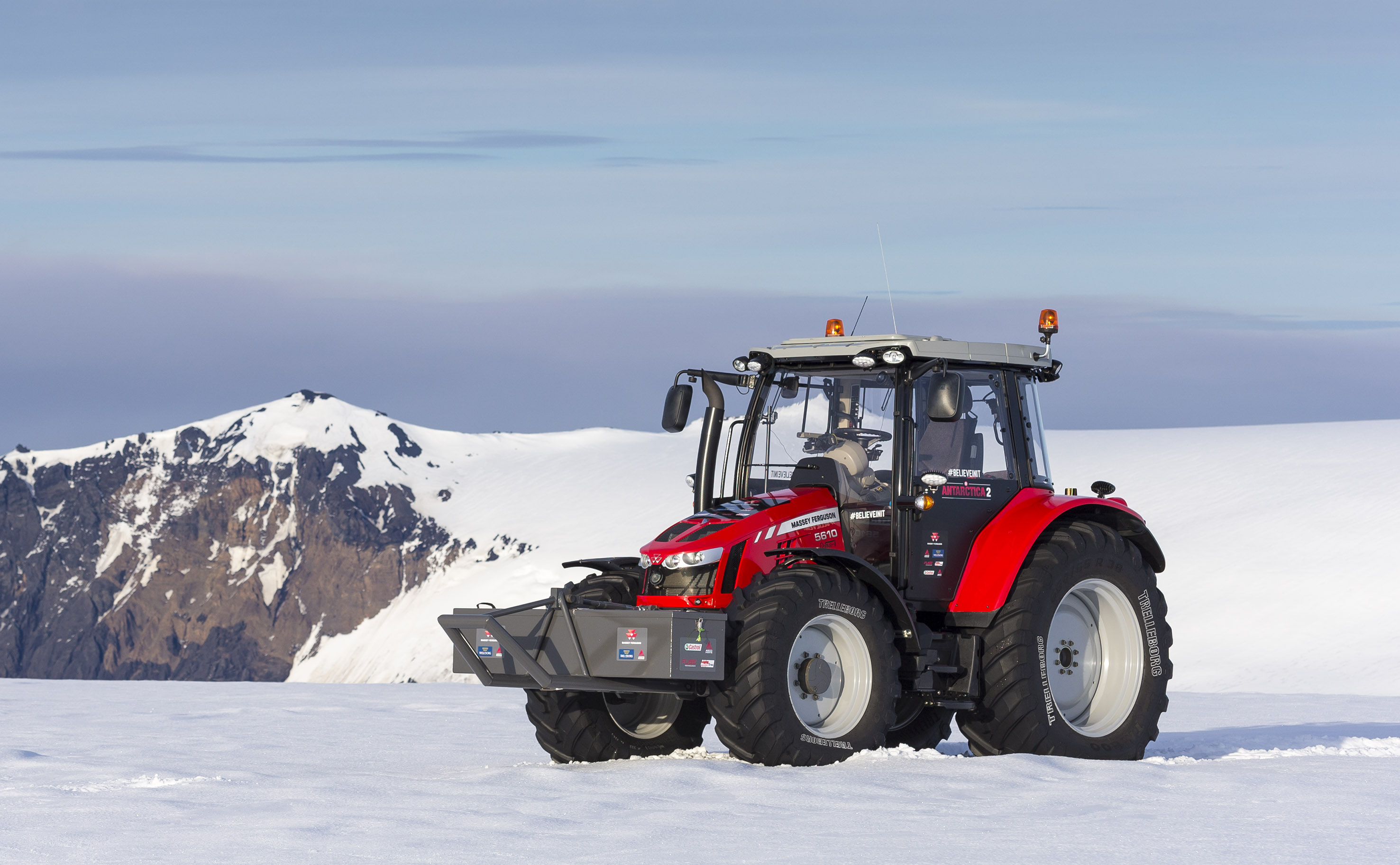South Pole Tractor Expedition