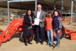 Kubota Tractor donation