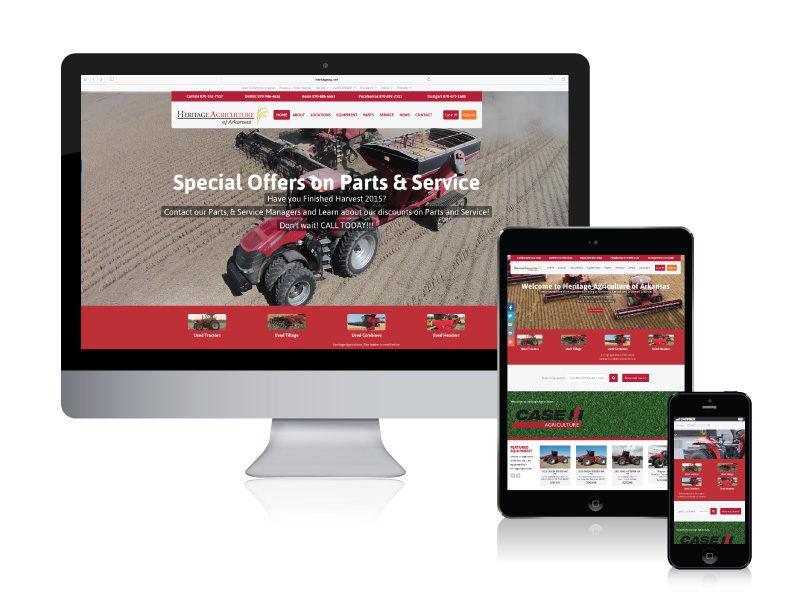 Heritage Agriculture website