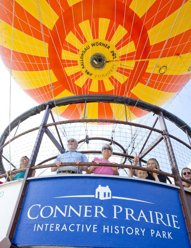 Conner Prairie: Reynolds Farm Equipment gives $375,000 to Conner Prairie, becomes sponsor of 1859 Balloon Voyage experience