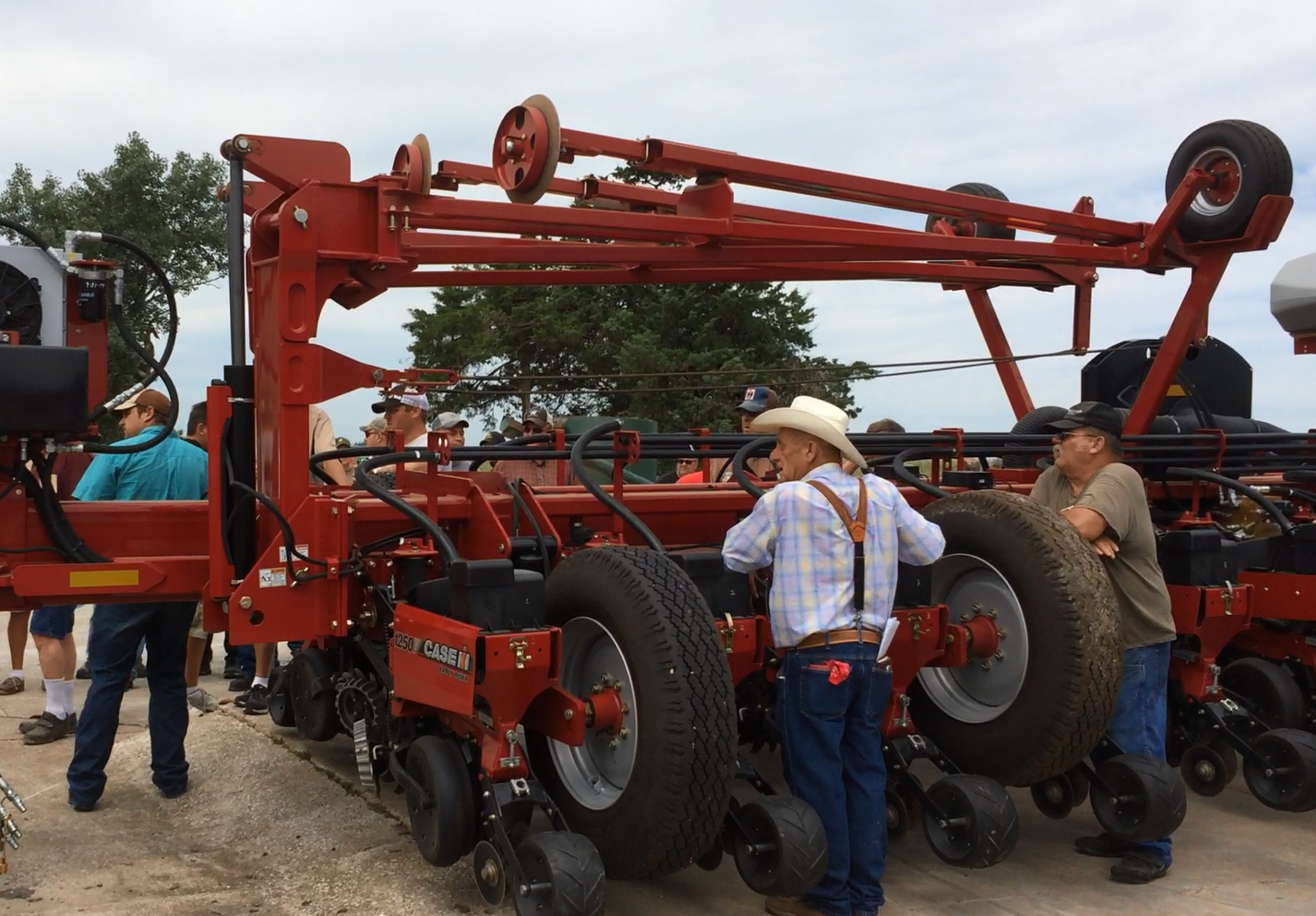 This 2013 Case IH 1250 sold for $59,000 on Aug. 1 at a farm auction in southwest Iowa.