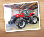 Case IH 290 w background