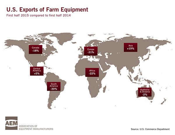 AEM Export Map