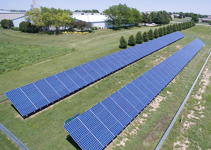 Van Wall solar panel