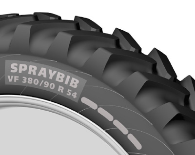 Michelin vf 380/90 r 54