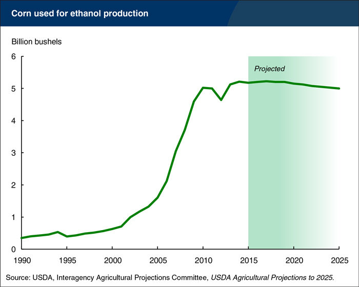 corn ethanol projections