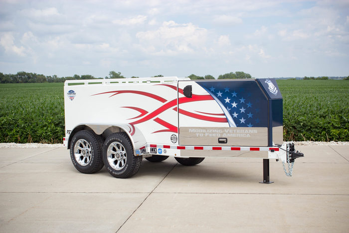 Thunder Creek FST 990 fuel and service trailer