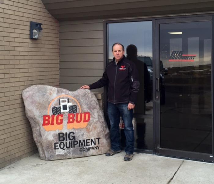 Ron Harmon exterior of Big Equipment