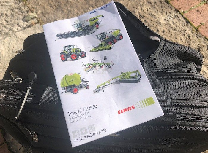 Claas travel guide