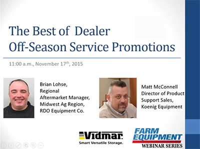 The Best of Dealer Off-Season Service Packages