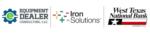 WEDA, Iron Solutions, West Texas National Bank logo