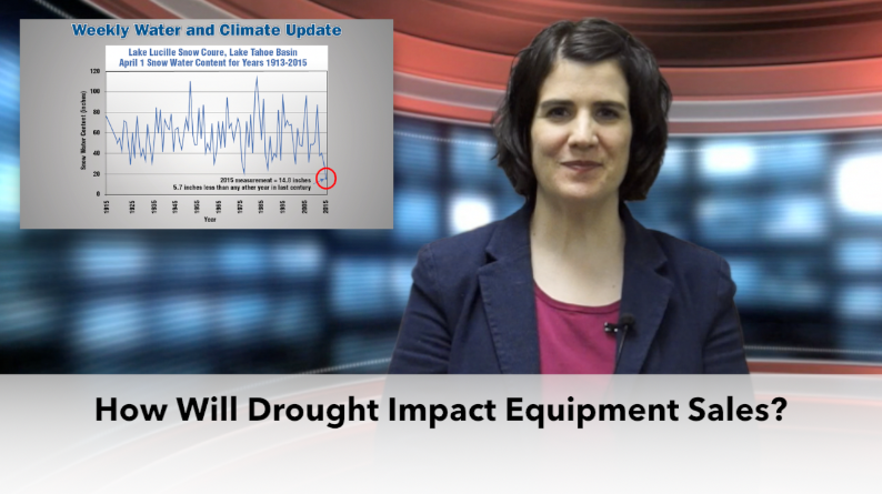On The Record: How Will Drought Impact Equipment Sales?