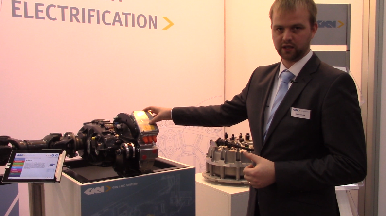 GKN Hybrid Power Gyrodrive Flywheel Energy Storage System