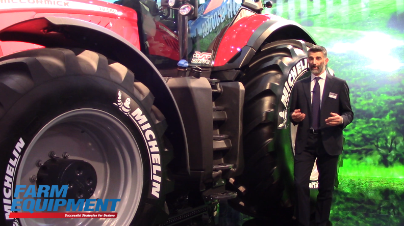 Argo Tractors' New X8 Series Tractors and GKN Land Systems