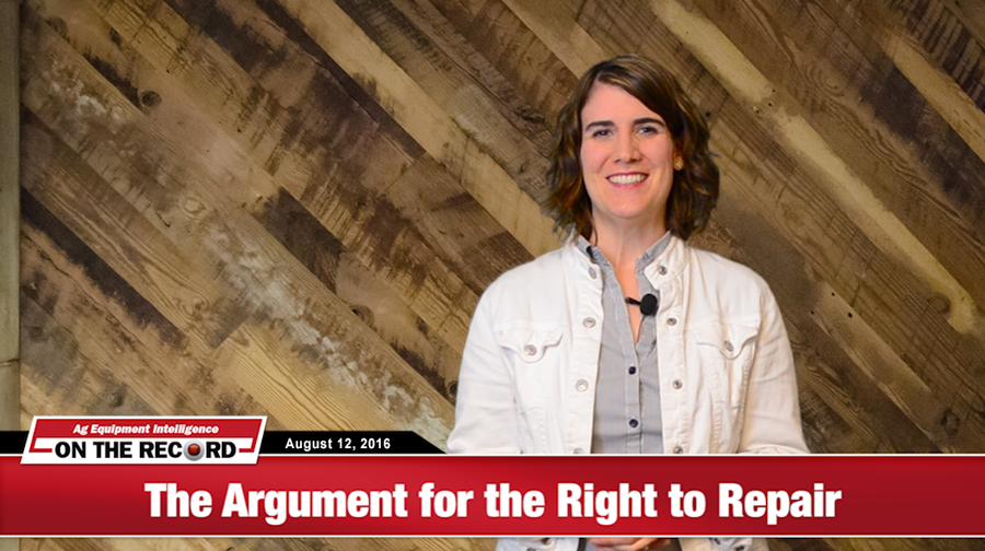 [On The Record] Two Sides to Every Story — The Right to Repair Argument