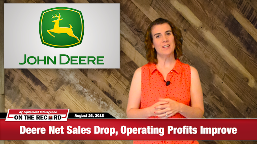 [On The Record] Layoffs Help Keep Deere Operating Profits Up