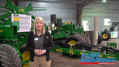 John Deere Releases 60-Foot 1895 Air Seeder Model
