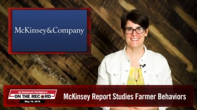 On the Record: McKinsey Report Studies Farmer Behaviors
