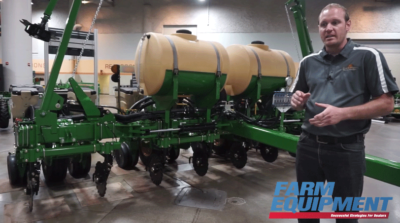 Great Plains Mfg. Showcases PL5500 Planter