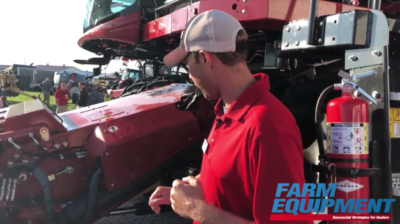 Case IH Presents the New 250 Series Combine