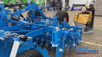 Discussing the New Rubin 10 from LEMKEN at the World Dairy Expo