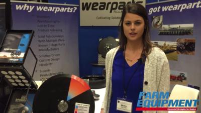 Wearparts Displays their Custom, Steel Made Disc Blades