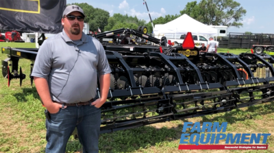 Mandako's New Storm Works as High Speed Disc or Vertical Tillage