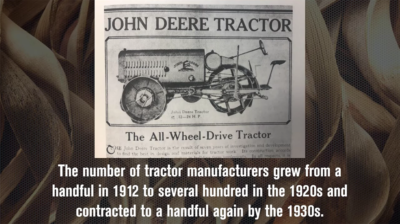 John Deere Enters the Tractor Business in 1912