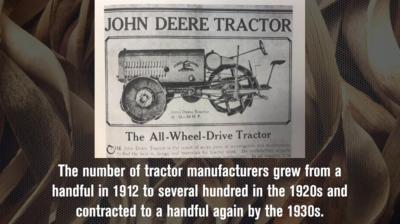John Deere Enters the Tractor Business in 1912